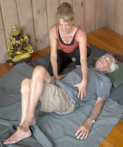 Somatic exercises taught by Dyana Wells